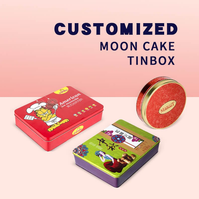 Mooncake Tin Box Packaging Supplier | Nice-Can