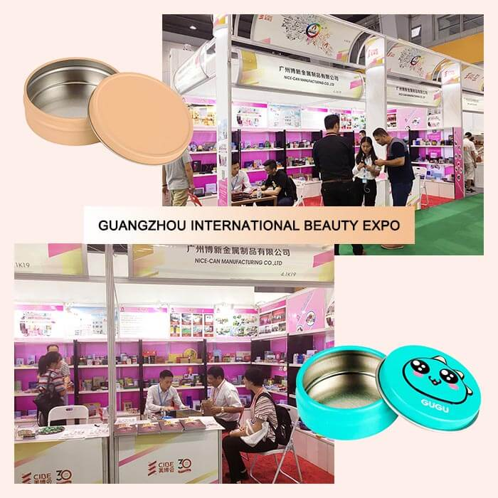Guangzhou International Beauty Expo-- Tin Box Packaging Of Beauty Industry