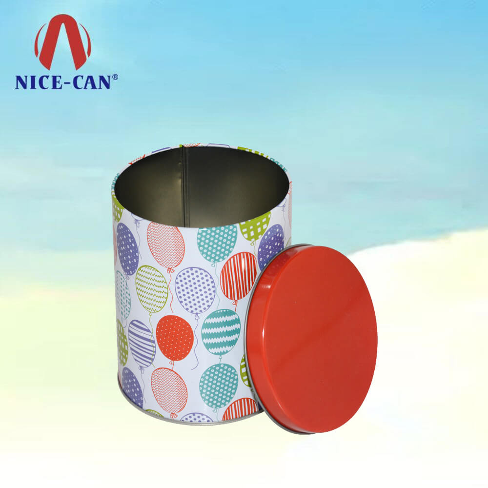 wholesale empty Thanksgiving gift tins contain candy/cookie tin box manufacture