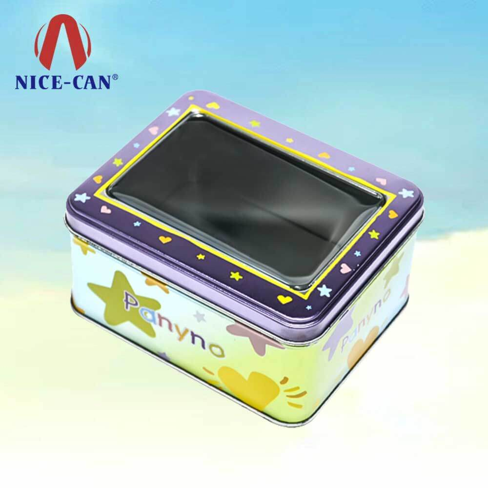 Metal candy box tin vintage candy chocolate tins sweets candy gift tin box