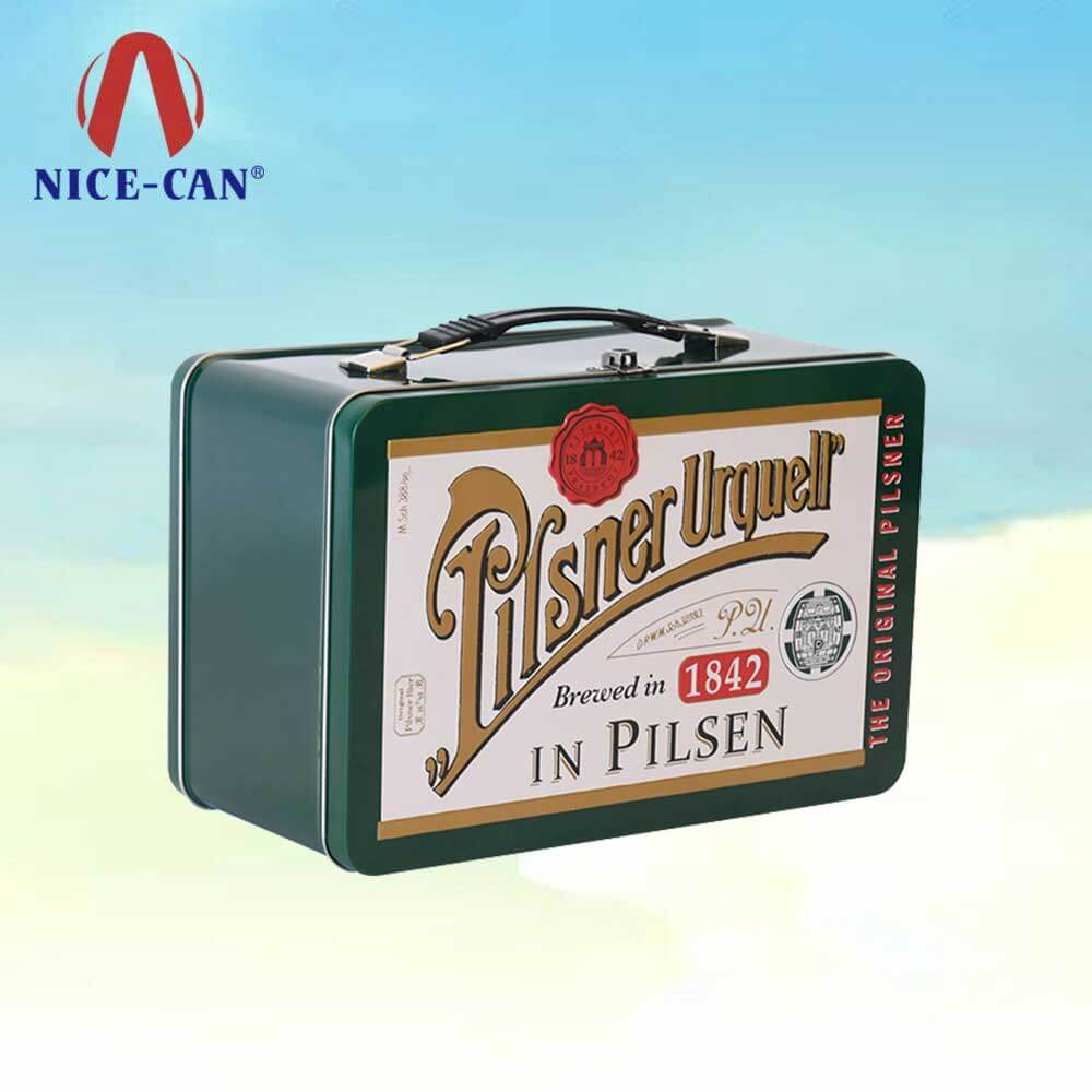 Metal tin lunch box retro vintage tin lunch boxes tin lunch containers