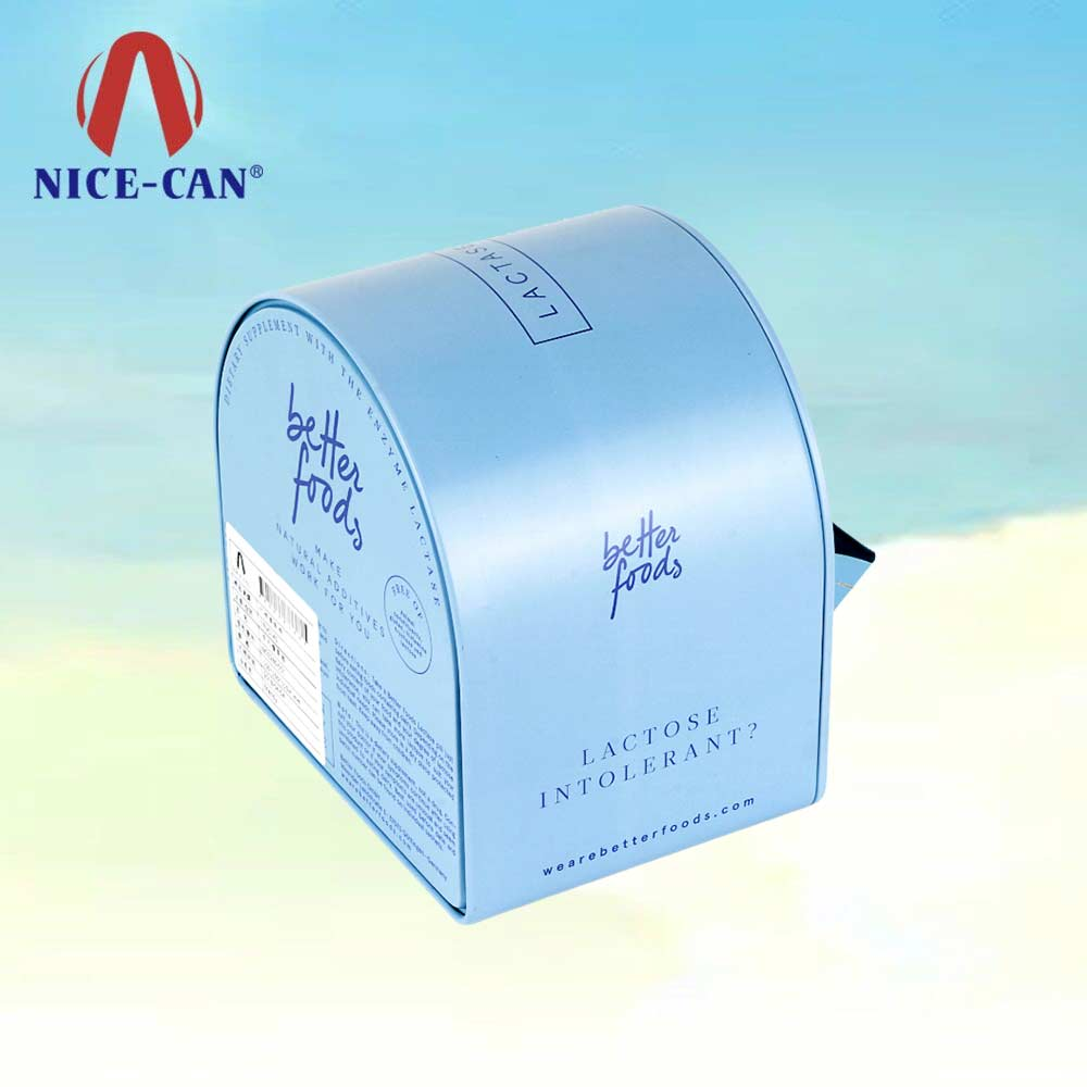 Tin box manufacturer small packaging irregular shape tin boxes empty metal tins